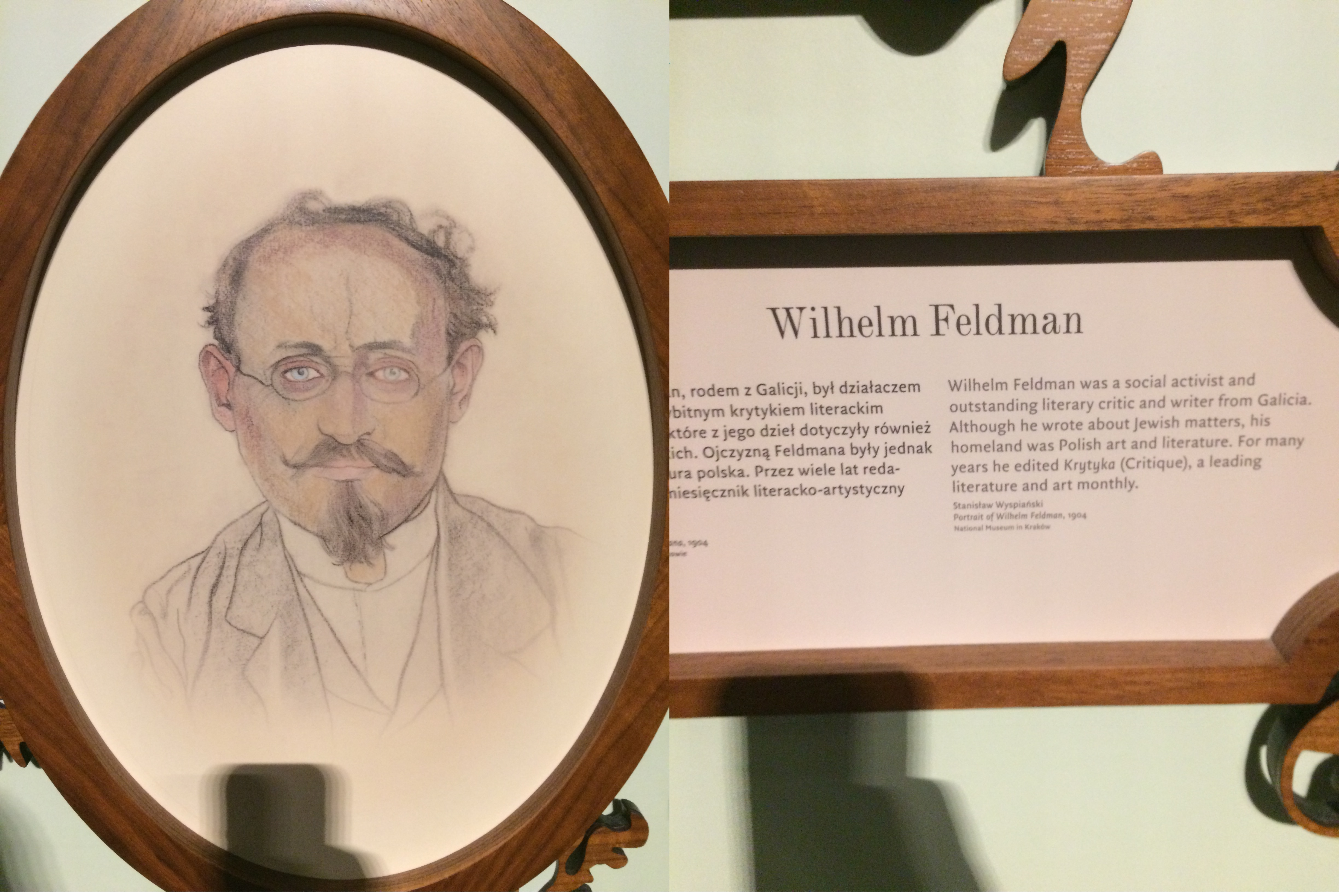 Wilhelm Feldman, picture taken from the Polish Museum, Poland